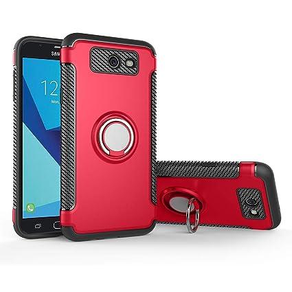 Case for Samsung SM-J327V Galaxy J3 V 2017 / SM-J327VPP Galaxy J3  Eclipse/SM-J327A Galaxy J3 2017 / Express Prime 2 SM-J327AZ Case Cover +  360 Degree