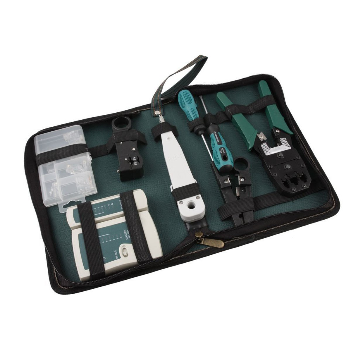 Foxnovo 8-in-1 Professional Network Computer Maintenance Repair Tools Set