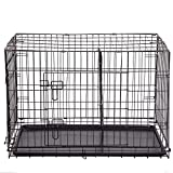 BestPet 30″ 2 Door Folding Dog Crate Cage Kennel LC ABS Review