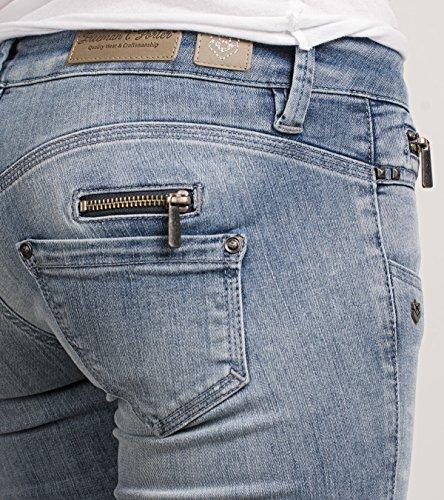 FREEMAN T.PORTER Alexa Super Stretch, Pantalones para mujer F0447 reform bleach