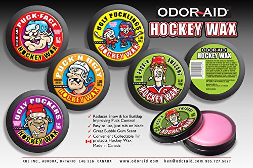 Hockey Stick Wax - Odor-Aid Puck N' Awesome Hockey Stick Wax