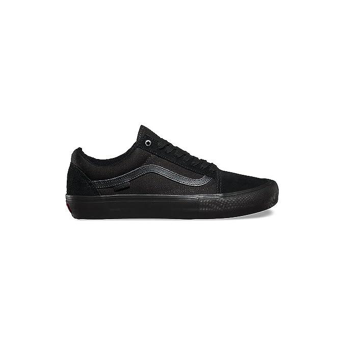 Vans Old Skool Pro Schuh Größe: 10 Farbe: Blackout: Amazon