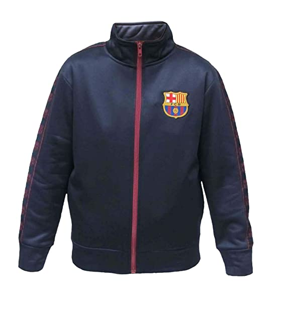 Amazon.com: Chaqueta de chándal oficial del FC Barcelona con ...