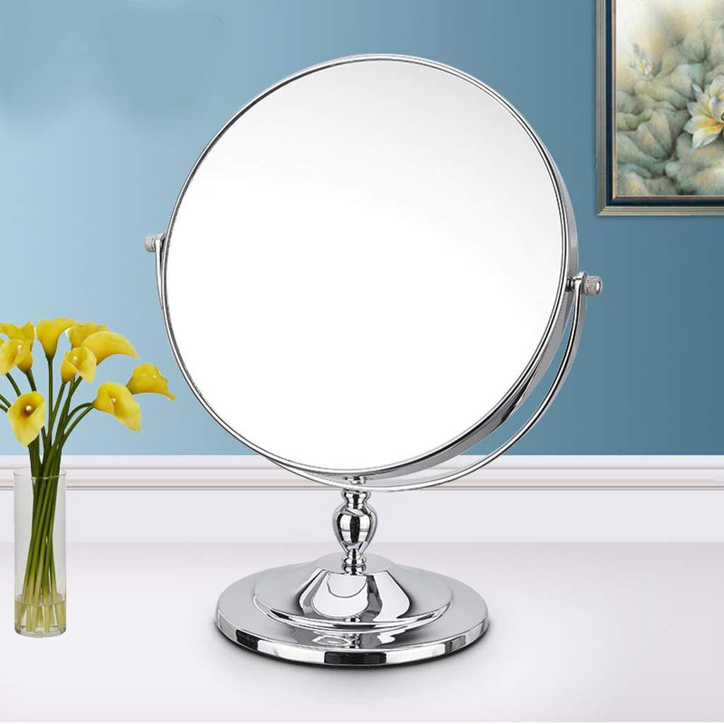 C&Q CQ Mirror Folding Mirror Mirror Double Sided Mirror European Metal Mirror Wall Mirror Portable Mirror by C&Q (Image #2)