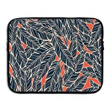 XINSHOU Modern Artistic Display Flying Quills Birds Animals Wildlife Jungle Laptop Sleeve Case Bag Cover For 13-15 Inch Notebook Computer 15 Inch