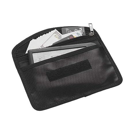 UK NEW Business Pocket Purse Cards Case Credit Holder Money Bag Fireproof Wallet
