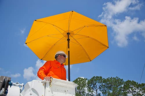 Lapco FR LAP-UM7VY Heavy-Duty Construction Umbrella