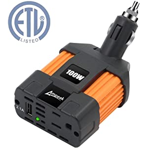 Ampeak 100W Car Power Inverter - Best Power Inverters For Car