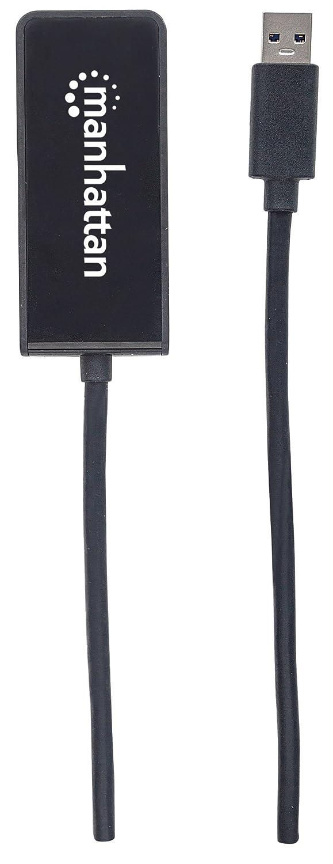 Black 152327 4K Manhattan SuperSpeed USB 3.0 to DisplayPort Adapter USB 3.0 Type-A Output to DisplayPort