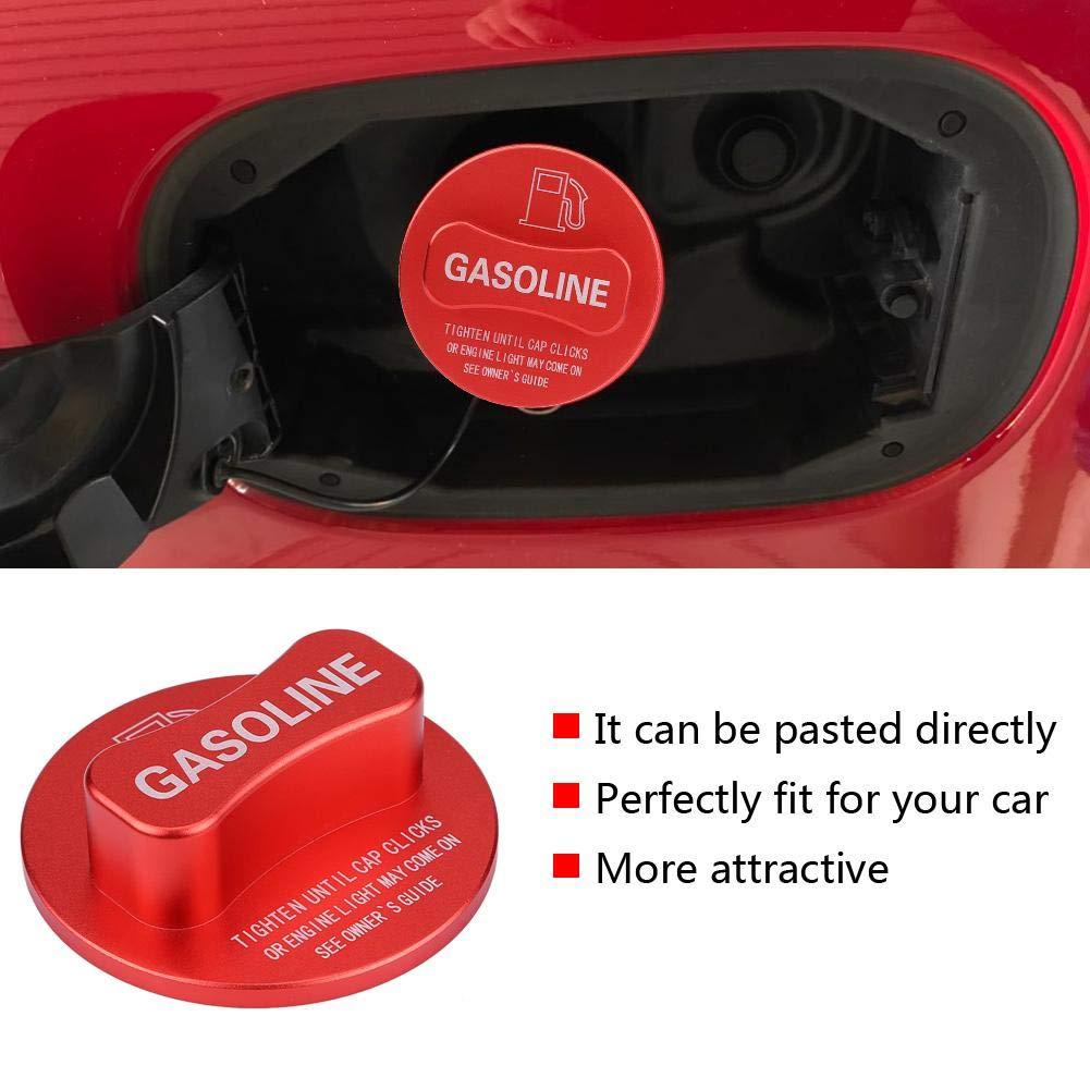 EBTOOLS Tapa de decoraci/ón de gasolina de coche Tapa de decoraci/ón de dep/ósito de combustible de gasolina de gasolina de coche Universal para clase W204 W205 W212 W213 W176 W222 X253 rojo