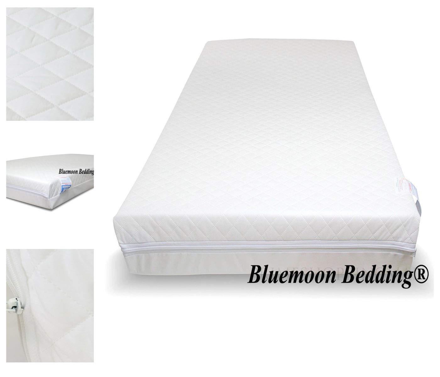 Bluemoon Bedding/® Baby Fully Breathable Nursery Foam Cot Mattress 126 x 62.5 x 10 cm
