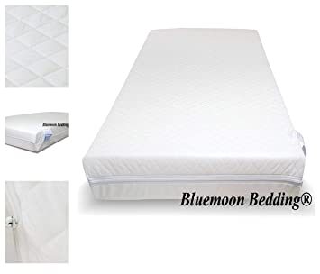 premium selection 702a8 4d481 Bluemoon Bedding® New Breathable Travel Cot Mattress Fit 100 X 70 cm