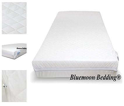 Transpirable y pueden no estar en español estándar de viaje y espuma con funda extraíble colchón para cama de adulto Talla:93 x 66 x 7.5 cm: Amazon.es: Bebé