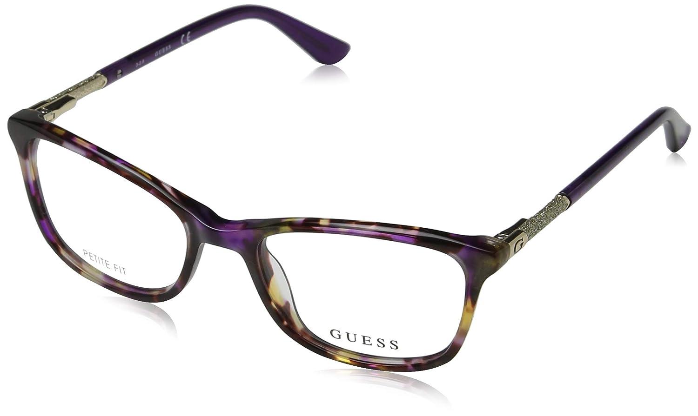 Guess GU2658 Monturas de Gafas, Morado (Viola), 50.0 Unisex ...