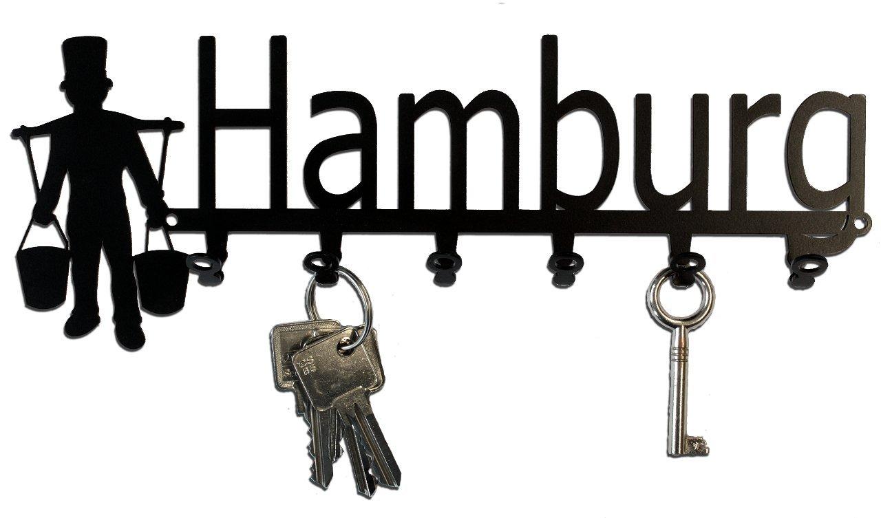Metall Schlüsselleiste Schlüsselbrett Hakenleiste Hamburg