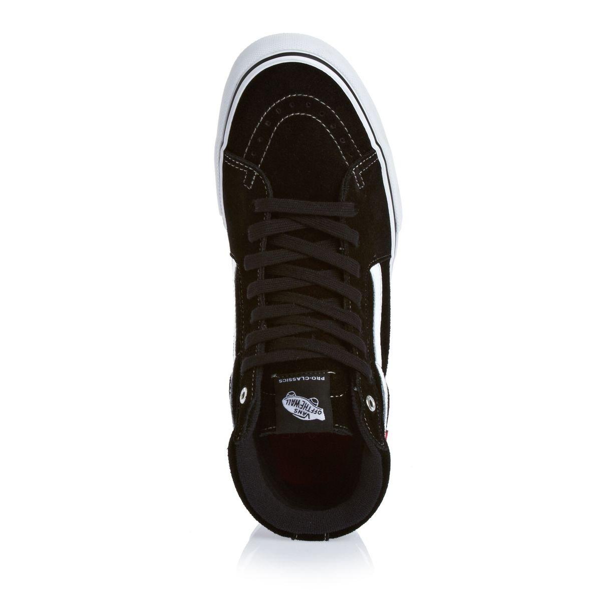 7ad4fa54f1 Amazon.com  Vans SK8-Hi Pro Gentlemen black (Size  42