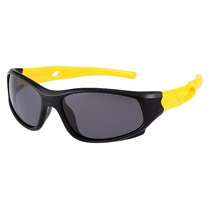 Amazon.com: Gafas de sol polarizadas de estilo deportivo ...