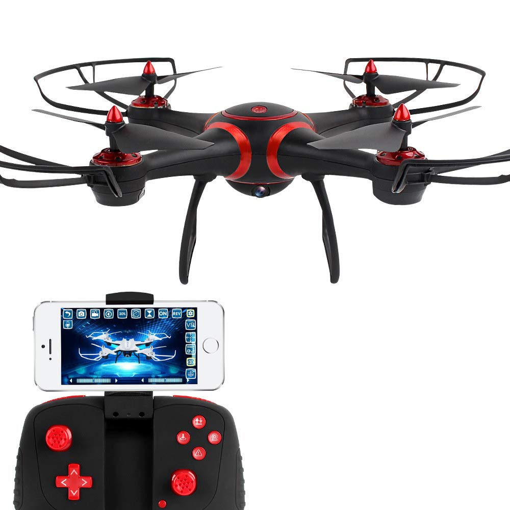 Garantía 100% de ajuste ASQXYFCT Control Remoto de Aviones WiFi Antena Antena Antena Drone para Niños Quadcopter de Juguete,Negro,WRJ  colores increíbles