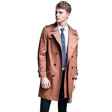 Cappotto estivo Trench primaverile Abbigliamento casual Vestiti comodi  Giubbotto primavera uomo Trench giovanile Giubbotto primavera uomo 3ad7635fbb7