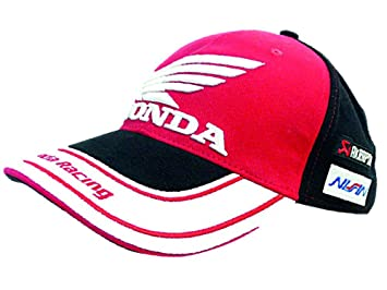 510fae0855d Honda Racing Team BSB White Peak Cap  Amazon.co.uk  Sports   Outdoors