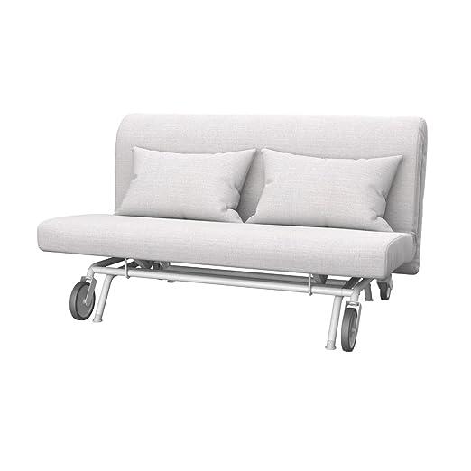 Soferia - IKEA PS Funda para sofá Cama de 2 plazas, Naturel ...