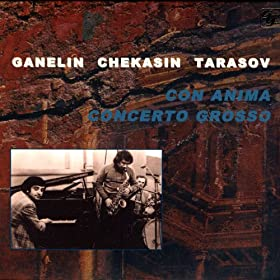 Ganelin Tarasov Chekasin Con Fuoco Live In Moscow And West Berlin