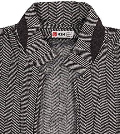 【H2H】 メンズファッションケーブルニット Zip-up カーディガン KMOCAL032 [並行輸入品]