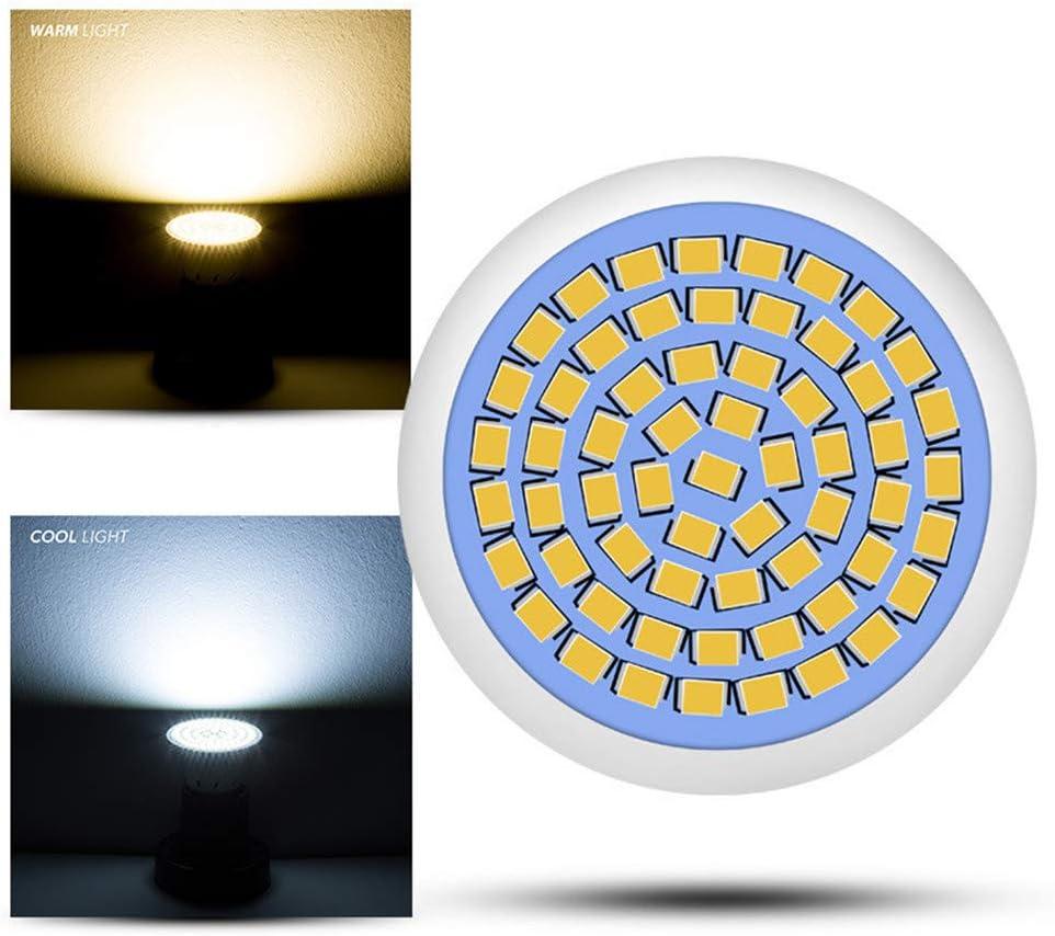 AOK DOOR Led Light Bulb Energy Efficient Light Bulb Led Light Bulb Gu10 Light Bulbs Gu10 Night Light Bulbs Gu10 Light Bulbs Light Bulbs Gu10 Led mr16,coolwhite-60beads