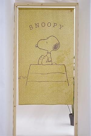 COSMOS Noren (Cortina Japonesa) Cacahuetes Campus Snoopy tamaño 85 x 150 cm 10385 de Japón: Amazon.es: Hogar