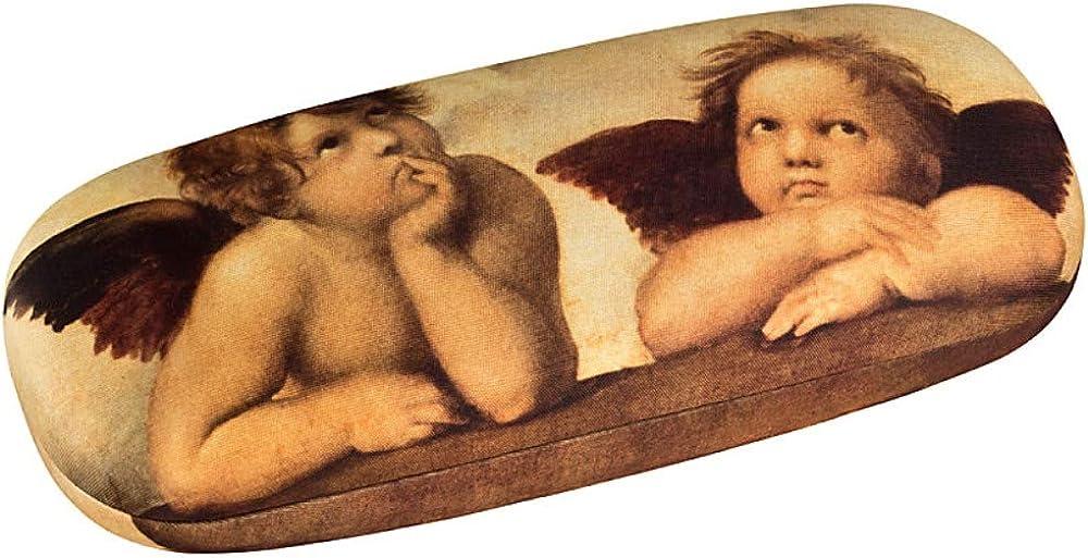 VON LILIENFELD Glasses Case Women Motif Art Raffael Angels