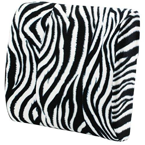Zebra Lumbar Back Massage Pillow Best Back to School College Supplies