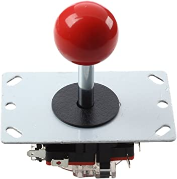 ACAMPTAR Boton Bola roja 8 Modos Joystick para Consola Maquina ...