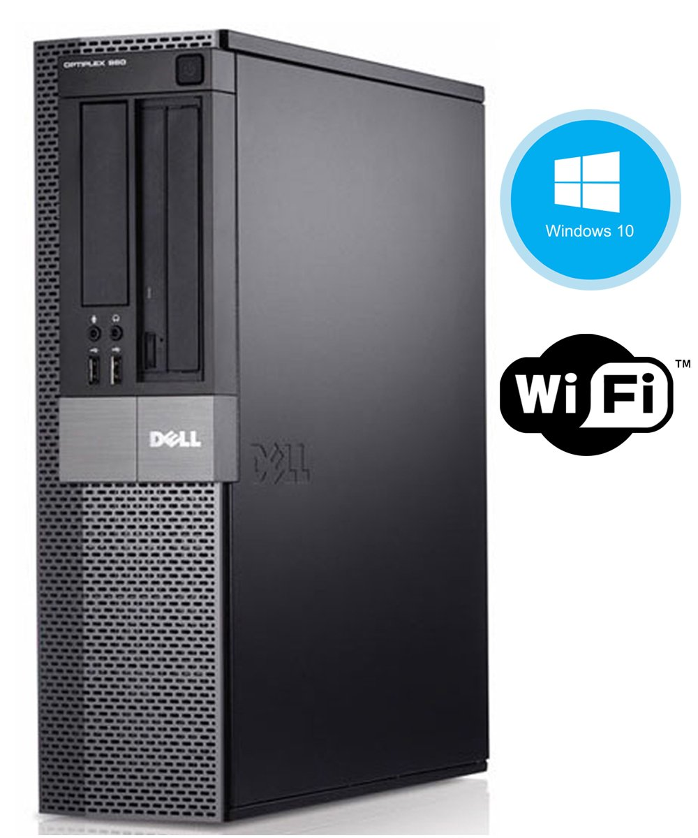 Dell Optiplex 980 Desktop Computer, i5-650 3.2GHz, 8GB, 500GB DVD, Windows 10 Pro (Certified Refurbished) by Dell