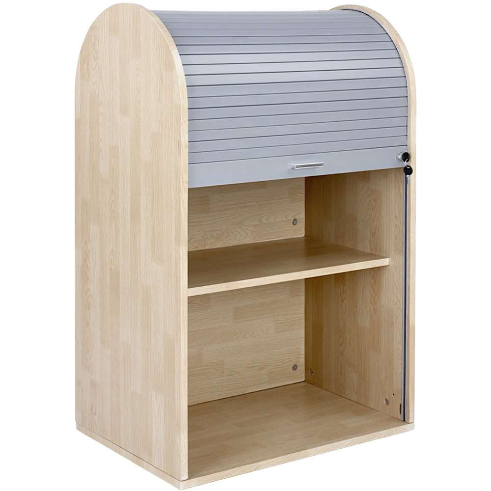 Miadomodo Rollladenschrank Büroschrank Aktenschrank ca. 92 x 60 x 40 ...