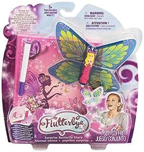 Fluteerbye - Hada voladora mariposa abre el libro y vuela