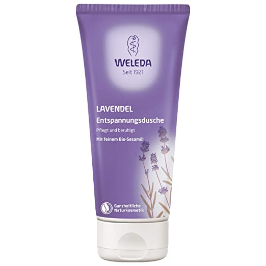 Weleda Creamy Body Wash, Lavender, 6.8 Fluid Ounce