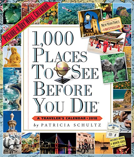 1,000 Places to See Before You Die Picture-A-Day Wall Calendar 2018 cover
