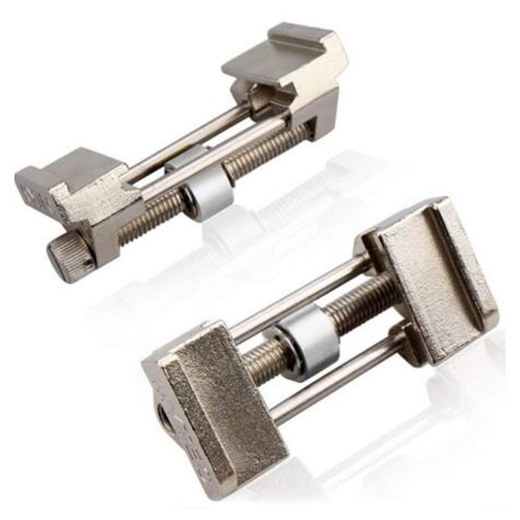 Afilador de cuchillos de acero inoxidable gu/ía de lijado de 5 mm a 82 mm Tubayia para cinceles de madera Plateado
