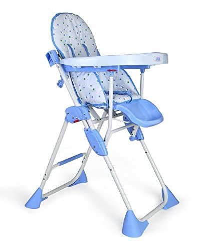 LuvLap Baby Comfy High Chair (Blue)
