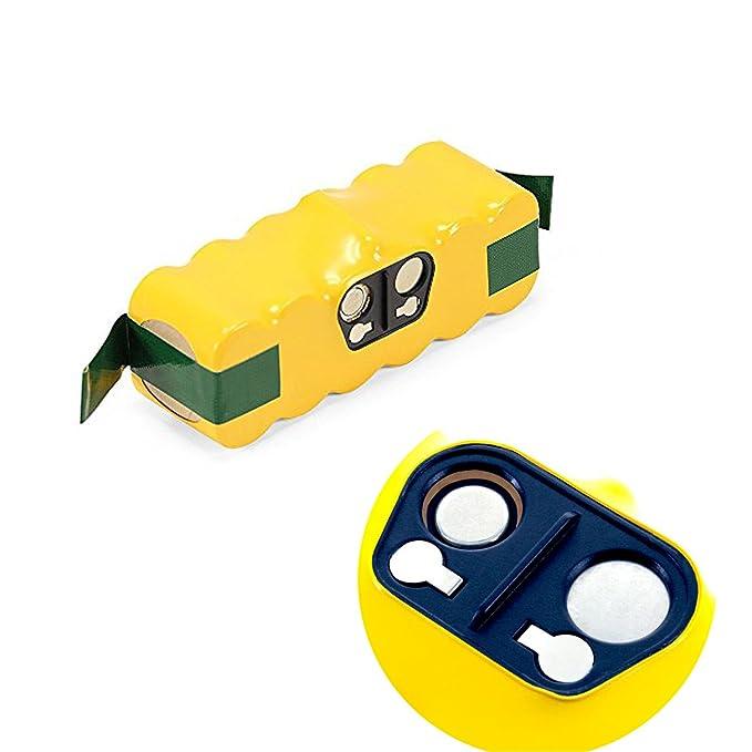 efluky Batería de Repuesto Ni-MH 4500mAh para iRobot Roomba 500, 600, 700 y 800 Series: Amazon.es: Hogar