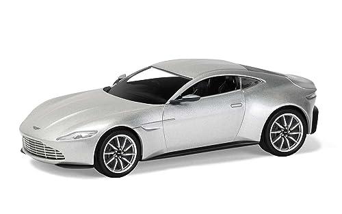 Hornby CC08001 James Bond Aston Martin DB10 Spectre Car (Silver)