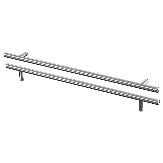 IKEA LANSA - Manilla, acero inoxidable paquete / 2-445 mm ...