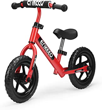 Enkeeo 12 Sport No Pedal Walking Balance Bike