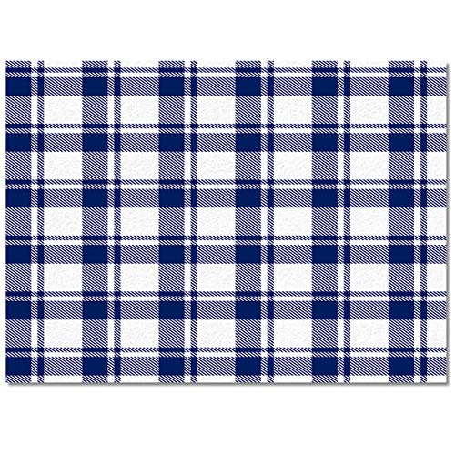 Fantasy Star Area Rugs for Living Room Bedroom Kid's Room Carpet Floor Mat,Fashionable and Affordable Rugs 3'× 5' Traditional Scottish Plaid Design -
