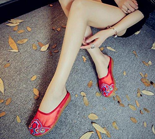 Red Por Lazutom De Estar Casa Para Zapatillas Mujer Z00w6qtT