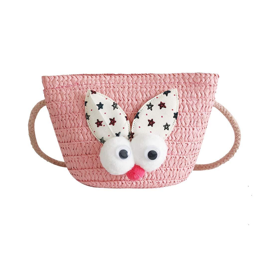 Women Weaving Versatile Cute Shoulder Bag Messenger Bag