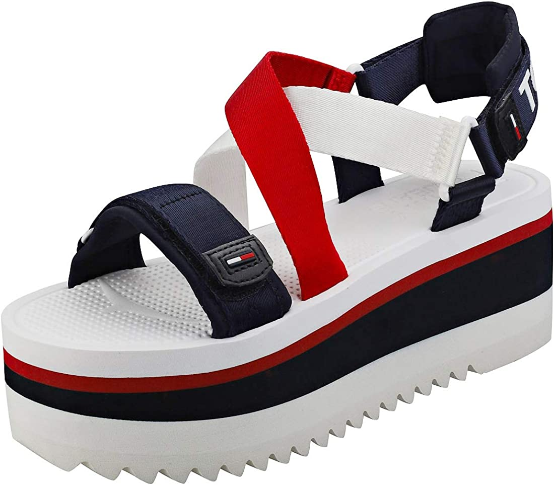TOMMY HILFIGER shoes woman platform