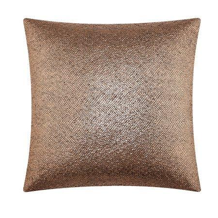 (Pillow Rose Gold Metallic Print 18