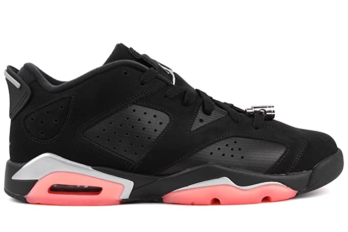 best sneakers 456c5 9b10d Image Unavailable. Image not available for. Color  Nike Air Jordan 6 Retro  Low GG Men s Basketball Shoes Black Sunblush ...