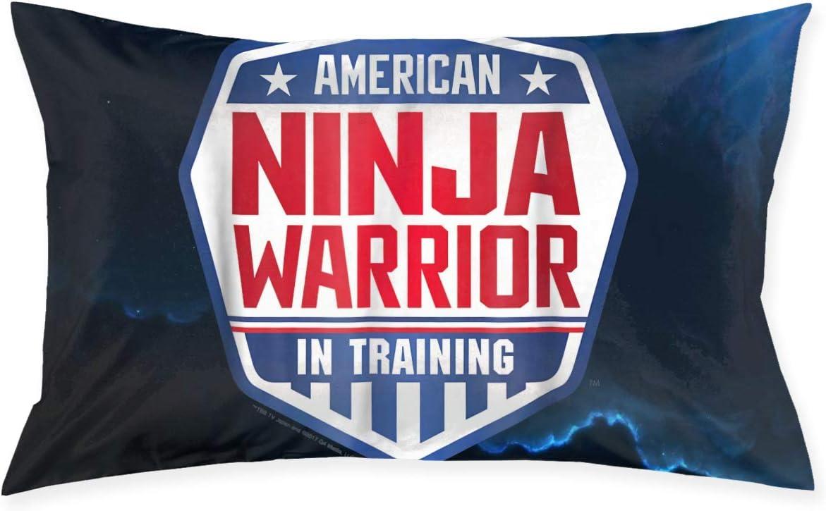"Luomingg Ninja Warrior in Training American Fleece Pillowcase 20"" X 30"" Cushion Cover"
